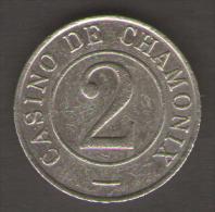 CASINO TOKEN CASINO DE CHAMONIX 2 - Casino