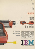 # IBM Electric Typewriter 1970s Advert Pubblicità Publicitè Reklame Machine A Ecrire Schreibmaschine - Other Collections