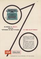 # IBM Electric Typewriter 1970s Advert Pubblicità Publicitè Reklame Machine A Ecrire Schreibmaschine - Other