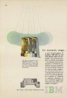 # IBM Electronics Computer 1970s Advert Pubblicità Publicitè Reklame Ordinateur Elektronik Calcolatore - Other Collections