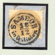 Heimat Ukraine Sambor 18/12C (Sambir) Briefstück - Ukraine