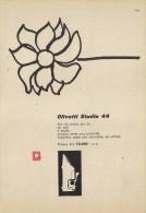 # OLIVETTI MACCHINA DA SCRIVERE  1960s Advert Pubblicità Publicitè Reklame Typewriter Machine Ecrire Schreibmaschine - Other Collections