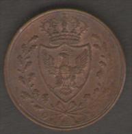 ITALIA - REGNO Di SARDEGNA - CARLO FELICE - 1 CENTESIMO ( 1826 ) - Monete Regionali