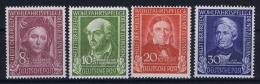 Deutschland Bund 1949 Mi Nr 117 - 120 MNH/** - Ungebraucht