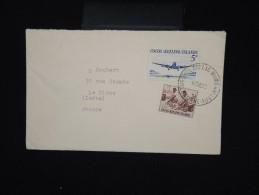 COCOS - Enveloppe Des Iles Cooks Pour La France En 1983 Avec étiquette De Douane Au Dos - à Voir - Lot P7982 - Cocos (Keeling) Islands
