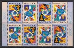 Europa Cept 2006 Azerbaijan 2v Complete Booklet Pane ** Mnh (23131) - Europa-CEPT