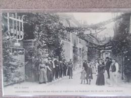 MONTEREAU .CONCOURS DE PECHE ET FESTIVAL DE MUSIQUE DU 30 JUIN RUE DU CALVAIRE - Montereau