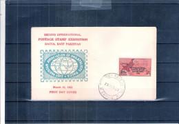 FDC Pakistan - Postage Stamp Exhibition 1963 (to See) - Pakistan