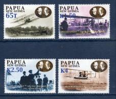 PAPOUASIE Papua New Guinea 2003 Air Flight Avion  Plane Yv 943/946 Mi 1008/1011 MNH ** - Papua-Neuguinea