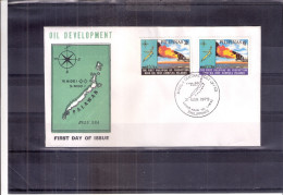 FDC Pilipinas - Oil Development In Palawan - Complete Set (to See) - Pétrole