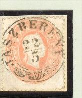 Heimat Ungarn Jaszbereny 22-5 Briefstück Mi # 20 - Used Stamps