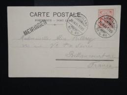 SUISSE - Obl. Ambulant De Meiringen Pour La France En 1904 Sur C.P. - à Voir - Lot P7993 - Covers & Documents