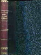 Oeuvres Inedites De Piron Prose Et Vers Par Bonhome  Orne De 3 Fac Simile Belle Reliure  413 Pages - 1801-1900