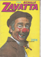 PROGRAMME CIRQUE ZAVATTA-1984-Biscarosse 5/08/84-Nomnreux Autographes Zavatta Et Artistes - Programmi