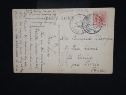 DANEMARK - Perforation étoile Sur Timbre Sur Cp Pour La France En 1911 - Aff. Plaisant - à Voir - Lot P7999 - Briefe U. Dokumente
