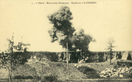 CPA  (34)   SAINT  THIBERY 2e Genie Explosion  Manoeuvres Technique - France