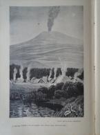 East Africa   MFUMBIRO, Or KIRUNGA  Volcano  Lake Kivu    1906 - Hungarian Print  2AFK.437.1 - Altre Collezioni
