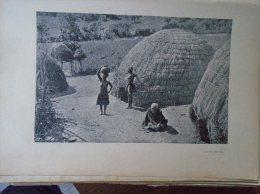 Africa   A Kaffer Village  -  1906 - Hungarian Print  2AFK.446.1 - Altre Collezioni