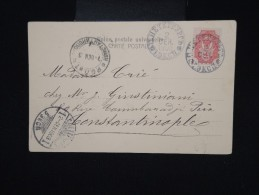 RUSSIE - Cp Voyagée En 1903 Pour La Turquie - Aff. Plaisant - à Voir - Lot P8011 - 1857-1916 Empire