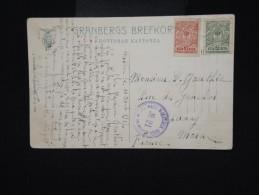 RUSSIE - Cp Voyagée En 1917 Pour Paris Avec Censure - Aff. Plaisant - à Voir - Lot P8016 - Covers & Documents