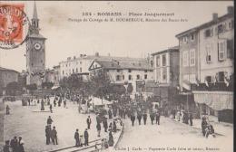 CPA:Romans:Passage Du Cortège De Doumergue - Romans Sur Isere