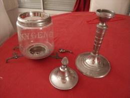 Fontaine � absinthe ancienne authentique Oxyg�n�e Cusenier 4 robinets