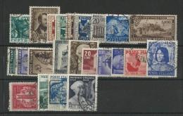 ITALIE - YVERT N°530/553 OBLITERES - COTE = 268 EUR. - - 1946-60: Used