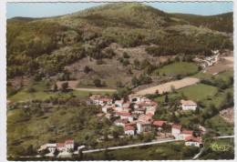 Arconsat. Village Des Cros Et Le Puy Montoncel. Vue Aérienne. - France