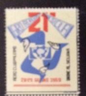 POSTA AEREA - Erinnofilo  GIRO AEREO INTERNAZIONALE DI SICILIA 1959  AEREO CLUB DI PALERMO - Erinnofilia