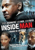 Inside Man °°°° Denzel Washuington , Clive Owen Et Jodie Foster - Policiers