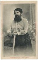 Bizarre Freak Madame Delait Plombieres France Woman With Beard - Spettacolo