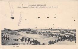 CPA 55 LE MONT CORNILLET AVANT L'ATTAQUE D'AVRIL 1917 - Frankreich