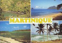 MARTINIQUE    H28    4 Vues Diverses, Anse Noire ,plage Du Diamant,cap Chevalier,sainte Marie - Martinique