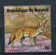 (CL 7 - P25) Burundi Ob N° 665 ( Ref. Michel Au Dos) - Fennec - - Burundi