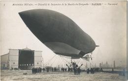 "Dirigeable  "" Patrie "" Nacelle Real Photo Airship - Dirigibili"