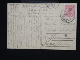 PORTUGAL - FUNCHAL - Carte Postale Pour L ' Italie En 1911 - Aff. Plaisant - à Voir - Lot P8041 - Funchal