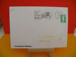 Flamme - 88 Vosges, DARNIEULLES, LE FORT D'UXEGNEY - 2.7.1996, SCOTEM - Marcophilie (Lettres)