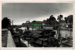 Carte Postale Ancienne De MYTHO - LE PONT DE GOCONG ET L'ARROYO - Vietnam