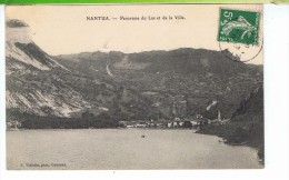 CPA-01-1908-NANTUA-PANORAMA DU LAC ET DE LA VILLE- - Nantua