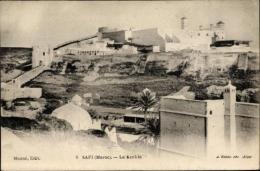 10 Alte Ansichtskarten Safi Marokko, Diverse Ansichten - Otros