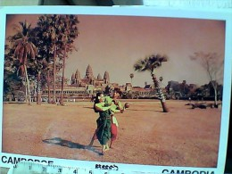 CAMBOGIA  COCONUT SHELL DANCING  N1995   EW1776 - Cambogia