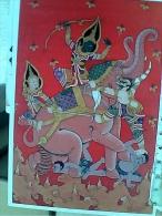 THAILAND  RAMAYANA  HANUMAN RAMA'S SOLDIER  ..ERAWAN ELEPHANT ELEFANTE  N1985   EW1778 - Cambogia