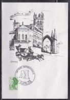 Carte De La 38ème Foire Internationale De Montpellier 12.10.86 N°2423 Illustration Montpellier En 1840 - Matasellos Conmemorativos