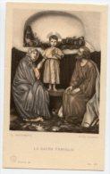 Santino Antico LA SACRA FAMIGLIA (G. Martinetti) - PERFETTO L34 - Religion & Esotericism