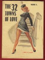 The 32 Towns Of Love By Nadine B ... - Libri, Riviste, Fumetti