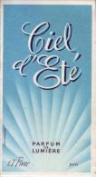 Calendrier - 1967 - Droguerie Parfumerie Maurice Rondy - MONTBRISON - Parfum LT PIVER - - Calendriers