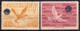 1960 - Cuba - Sc C209-C210 - MNH - 023 - Cuba
