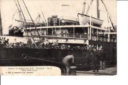 Red Star Line  Landverhuizers Gaan Aan Boord Van De Finland Te Antwerpen - Dampfer