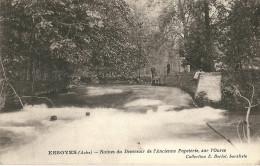 CPA 10 ESSOYES DEVERSOIR ANCIENNE PAPETERIE PECHEURS - Essoyes