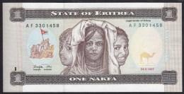 Eritrea 1 Nafka 1997 P1 UNC - Erythrée